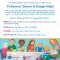 PJ Dinner & Design Poster